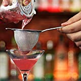bar@drinkstuff Cóctel de láminas tamiz colador de gusanillo - Fina, colador de gusanillo...