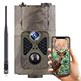 SUNTEKCAM 4G Cellular Trail Camera – 20MP 1080P Game Hunting Camera with 2.4' LED Night Vision Motion Activated for Deer Hunting