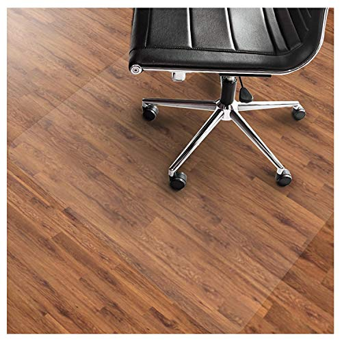 Office Marshal PVC Chair Mat for Hard Floors - 36' x 48' | Multiple Sizes Available | Clear,...