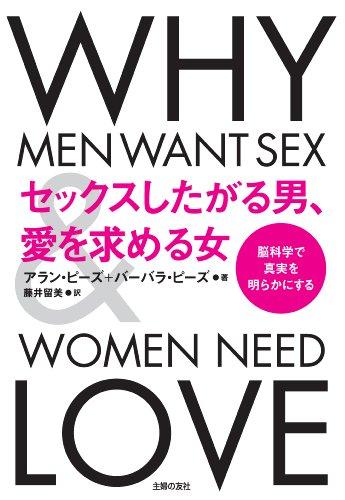 [画像:セックスしたがる男、愛を求める女]