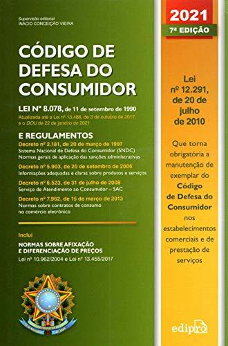 Código de Defesa do Consumidor 2021: Lei e Regulamento