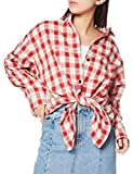 [MILKFED.] 103202014001 2ウェイプレイドシャツ 2WAY PLAID SHIRT レディース レッド 日本 ONE SIZE (FREE サイズ)