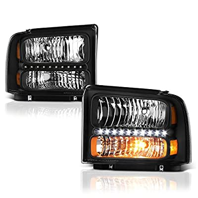 VIPMotoZ 2005-2007 Ford F-250 F-350 F-450 F-550 Superduty Headlights