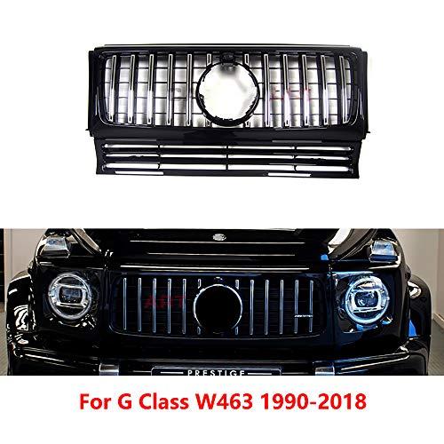 NA Rejilla de Estilo ABS GT Rejilla Delantera Adecuado para Mercedes Clase G W463 G500 G55 G63 a 1990-2018 Accesorios