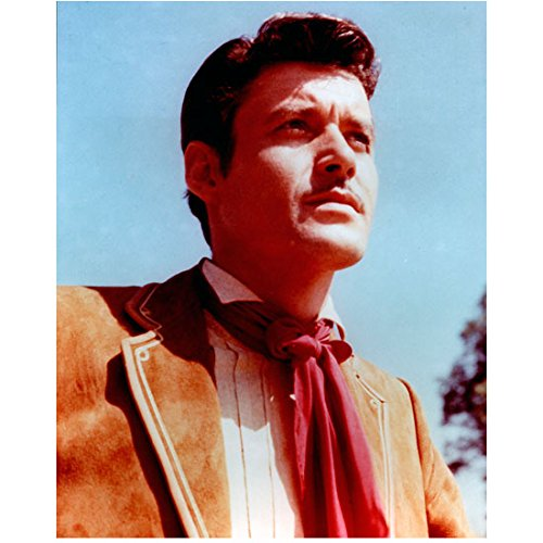 Zorro (TV Series 1957 - 1959) 8 Inch x10 Inch Photo Guy Williams Tan Suit Red Tie/Scarf kn