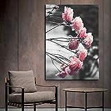 N / A Pintura sin Marco HD Imagen Rosa póster Arte Estilo nórdico Lienzo Pintura decoración del hogar Pintura ZGQ6410 60X90cm