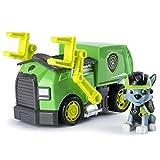 PAW PATROL 6037969 Paw Juguete de camión de Reciclaje de Rocky de la Patrulla Canina