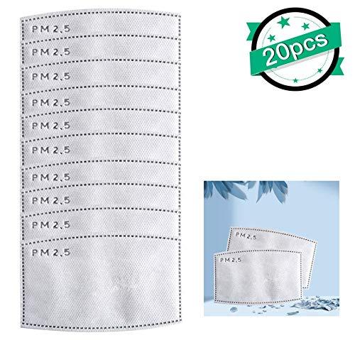 PM2.5 Austauschbare Filter für Erwachsene (20 PCS)