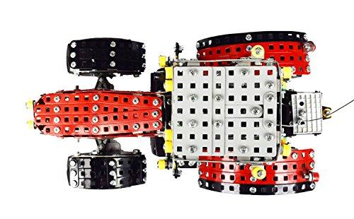 RC Auto kaufen Traktor Bild 3: Tronico 10084 - Metallbaukasten Traktor Massey Ferguson MF-8690 mit Fernsteuerung, Profi Serie, Maßstab 1:16, 726-teilig, rot*