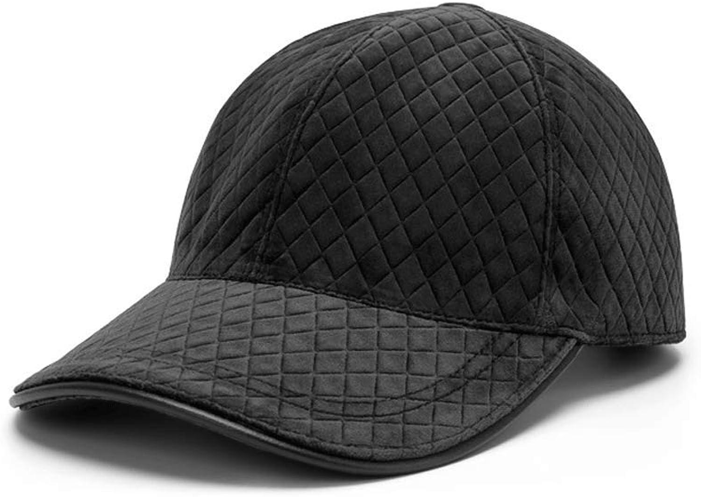 SLH Men's Top Grade Caps Baseball Caps Spring Summer Women's Sunshade Hat (color   Black)