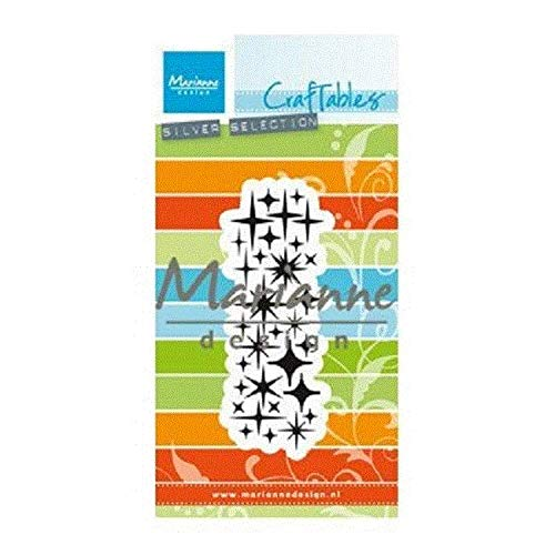 Marianne Design craftables Plantillas de Corte y Embossing,ponche Muere Estrella, para proyectos...