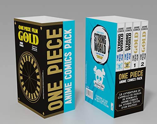One piece. Anime comics pack