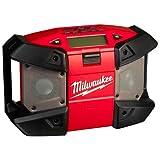 Milwaukee 4933416365 C12JSR Netz/Akku-Radio C12JSR/0, 12 W, 12 V