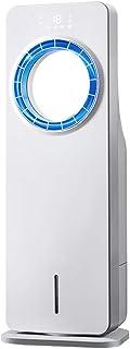 ML Enfriador evaporativo de Aire sin aspas, Aire Acondicionado móvil, 65 W, Tanque de Agua de 3.5 litros, Ventilador sin aspas con Control Remoto y Pantalla LED