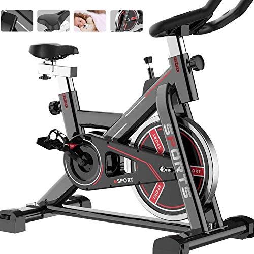 CLI Bicicleta estática Bicicleta estática Bicicleta de Ciclismo de Interior Ajustable Pantalla LCD Profesional Equipo de Entrenamiento de Ejercicio Gimnasio de Oficina en casa cómodo cojín XITOU