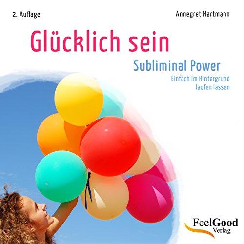 Glücklich sein audiobook cover art