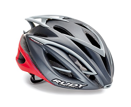 Rudy Project Casco RACEMASTER Titanium Red-Matte L Unisex Adulto