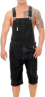 Fashion Jeans Pants,Men's Overall Casual Jumpsuit Jeans Wash Broken Pocket Trousers Suspender Pants