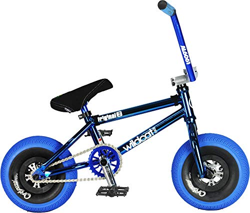 Wildcat Joker Original 2C Mini - Bicicleta BMX sin freno, color azul