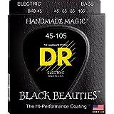 DR ベース弦 BLACK BEAUTIES ステンレス コーテッド .045-.105 BKB-45