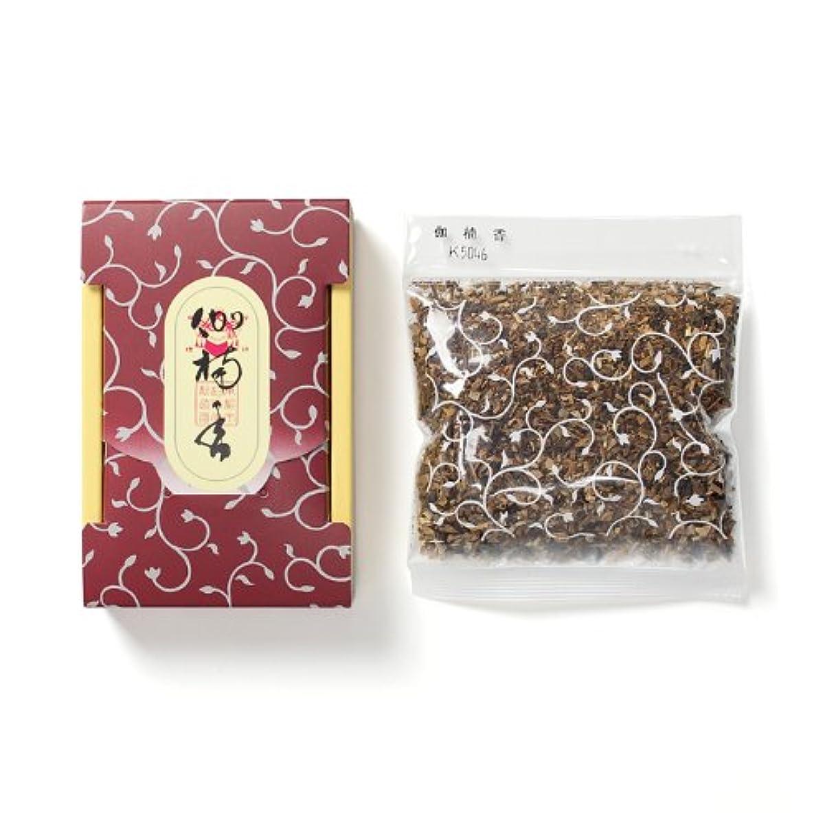 フィッティング段階の配列松栄堂のお焼香 伽楠香 25g詰 小箱入 #410641