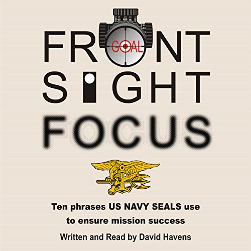 Front Sight Focus audiobook cover art