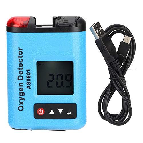 Detector de gas industrial Sensor de concentración de oxígeno Medidor de oxígeno portátil Herramienta de control de calidad del aire