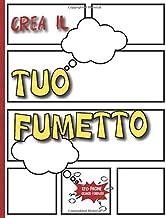 Crea Il Tuo Fumetto: Grande formato | Cornici di riempimento facile (Italian Edition)