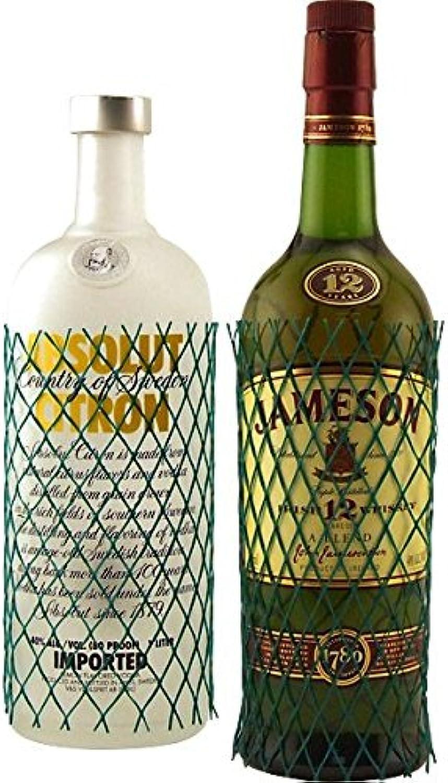 Predective Webbed Mesh Liquor & Wine Bottle Sleeves - Box of 400