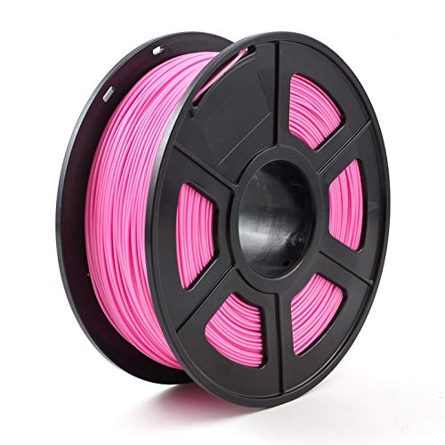 YBINGA 3D Printer Filament PLA 1.75mm 1kg/2.2lbs 3d Plastic Consumables Material 3d Filament PLA Replacement Parts (Color : Pink)