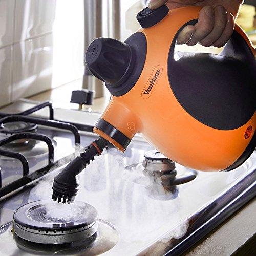 VonHaus Multi-Purpose Handheld Staem Sterilize Cleaner   Corded Lightweight Staemer for Upholstery