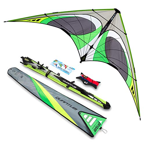 Prism Kite Technology Quantum 2.0 Graphite Dual-line Stunt Kite