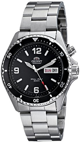 "Orient Men's CEM65001B ""Silver Mako"" Automatic Dive Watch"