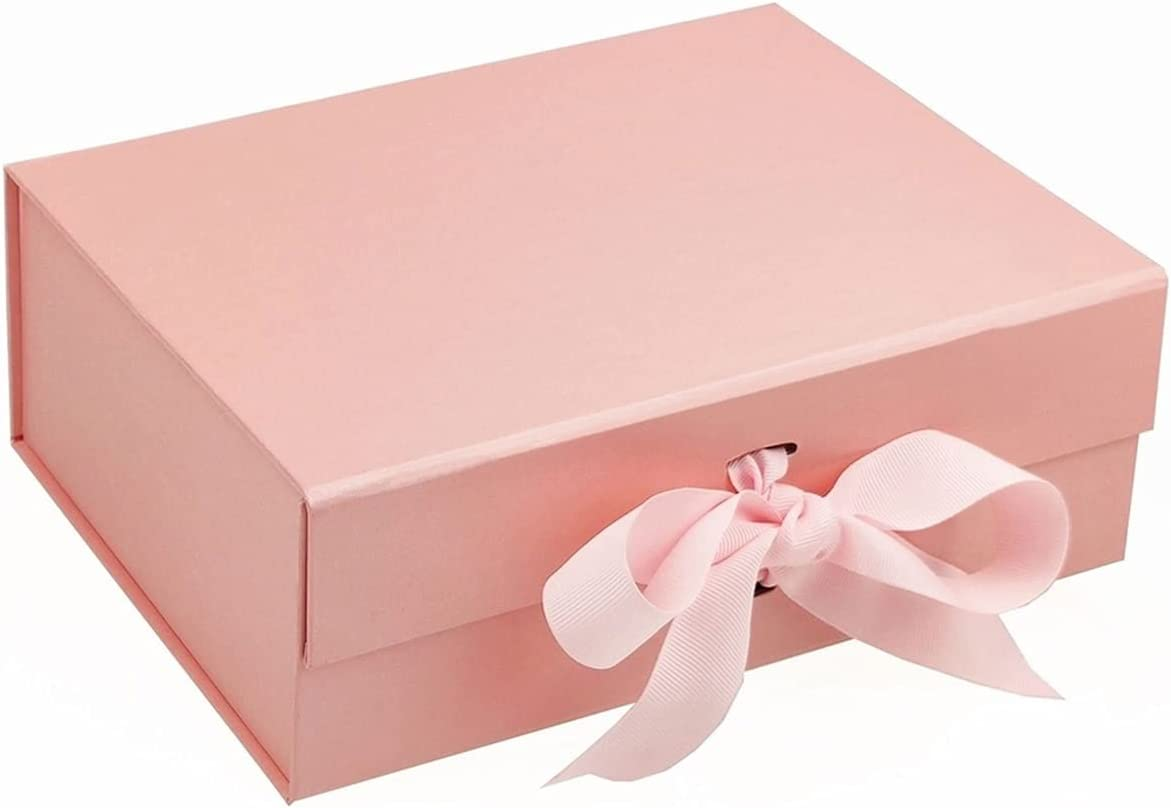 Alysays Sale special price Useful 5pcs Rectangular Max 69% OFF Pink Bow Knot Box Packaging Gift