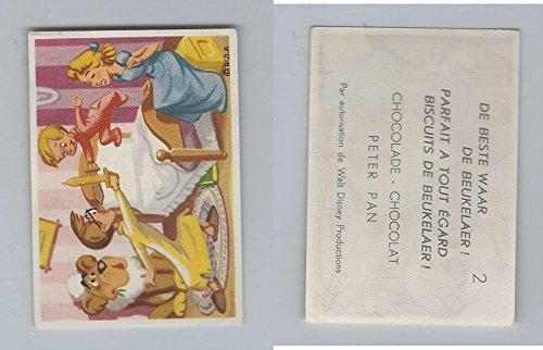 1958 De Beukelaer Biscuits, Chocolate, Walt Disney, Peter Pan, 2, ZQL