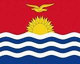 DIY ÖLgemäLde Nach Zahlen Kits Thema Digitales ÖLgemäLde Leinwand Kits Geburtstag Hochzeit Oder Weihnachtsdekoration Dekorationen Sonne Republik Flagge Kiribati