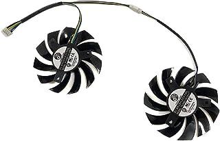 PLD08010S12HH MSI用 Twin Frozr II R6790 R6850 N460GTX N570GTX GTX580 VGA GPU Graphics Card Fan 冷却パーツ・ファン グラフィックカードファン