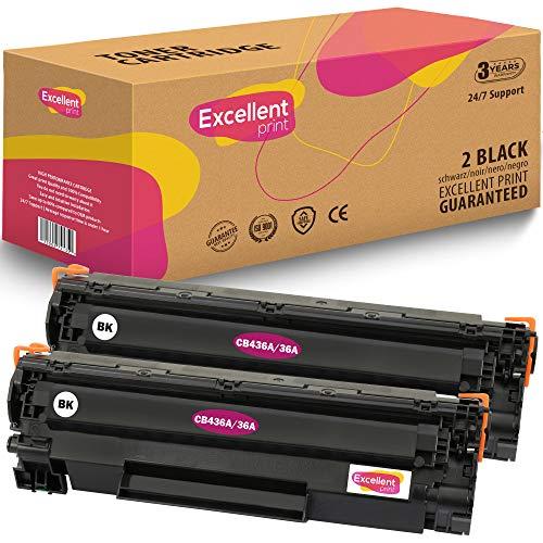Excellent Print CB436A 36A Compatible Cartucho de Toner para HP Laserjet MFP P1505 M1120 M1522