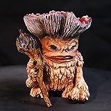 Huhu833 Pilz Gartenzwerge,Gartenfiguren Lustige Freche Kuriosität Gartenzwerg Deko Machen Menschen Glücklich, Geeignet für die Dekoration von Innen und Außenobjekten im Garten (Rosa)