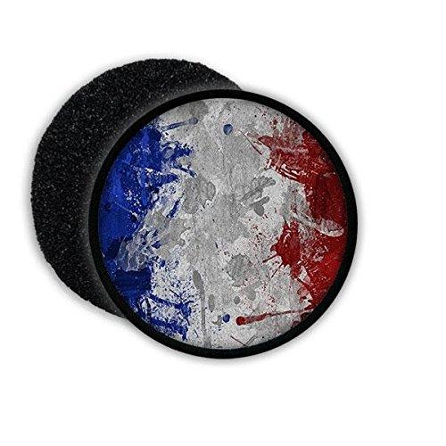 Copytec Patch French Frankreich France Französich Paris Flagge Fahne Flag Abzeichen Wappen Aufnäher Emblem #20580