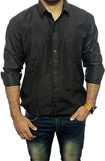 Music Joy Cotton Formal/Casual Shirt for Men's Full Sleeves