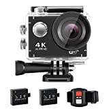 NEXGADGET 4K Action cam WiFi Ultra HD 16MP Action Kamera 170째Weitwinkel 2,0 Zoll LCD Wasserdicht...