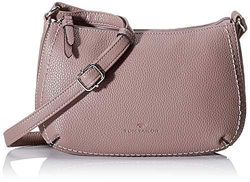 TOM TAILOR Umhängetasche Damen Sessa, Pink (Old Rosé), 24x15.5x5.5 cm, TOM TAILOR Handtaschen, Taschen für Damen, klein
