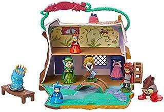 Disney Aurora Cottage Animators Littles Mini Juego de 10 Piezas de Juguete y Figuras