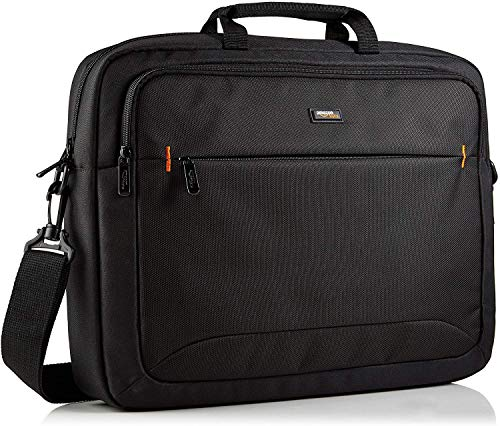 AmazonBasics 17.3-Inch (44 cm) HP Laptop Case Bag, Black, 1-Pack