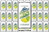 Sierra Mist zero sugar 7.5 fl oz , 24 cans total 180 fl oz
