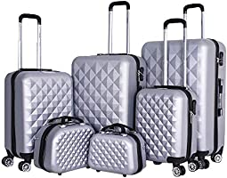 Capital Luggage Trolley Bags Set Of 6 Pcs