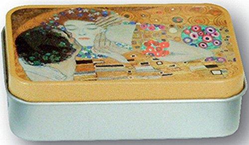 Metall Seifendose FRANZOSICH Vintage Maler Klimt der Kuss 1906