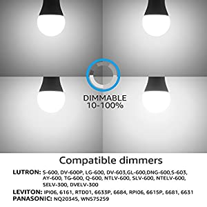 TORCHSTAR 9W Dimmable A19 LED Light Bulb GU24 Base, Energy Star UL-Listed Bulb, 60W Equivalent, 840 Lumens, 5000K Daylight, 310° Omni-Directional General Lighting, 3 Years Warranty, Pack of 2