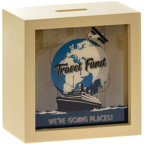 Yorkshire Giftware Limited Travel Fund Money Box,...